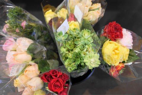 ジャパンバザールの花