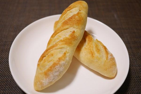こじんまりしたフランスパン